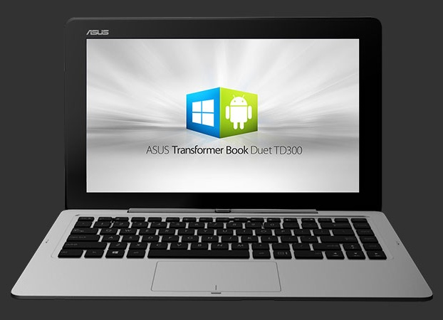 Notebook dual boot ASUS Transformer Book Duet TD300