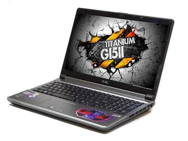notebook gamer Avell Titanium G1511 NEW