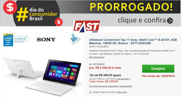 fast shop semana ultra tech