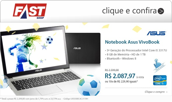 asus vivobook notebook fast shop core i5