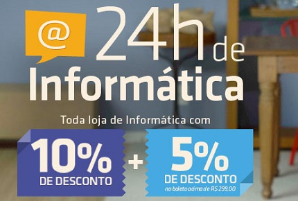 24 horas de informatica na shoptime notebook
