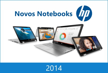 novos notebooks hp 2014
