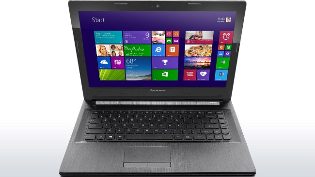 visao frontal do notebook lenovo g40 brasil