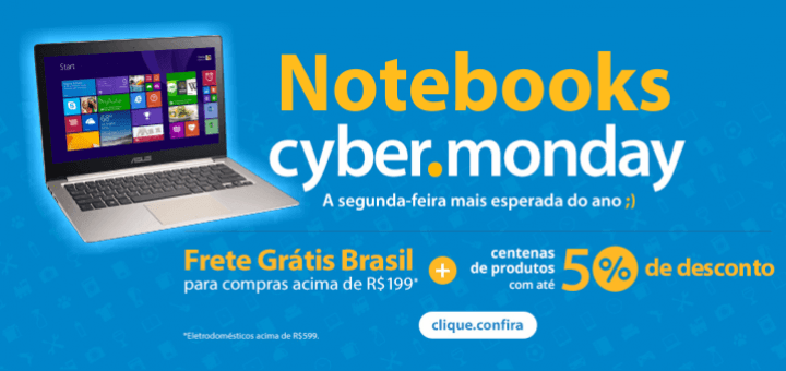 notebooks no cyber monday walmart barato oferta