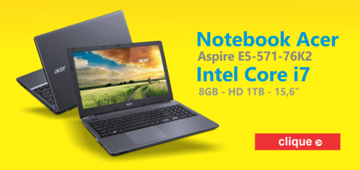 Notebook Acer Intel Core i7 HD 1TB 8GB Aspire E5-571-76K2 15 para comprar no Walmart