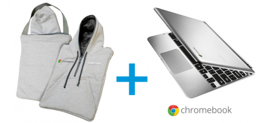Notebook Google Chromebook com Case Classic Moleton com Capuz