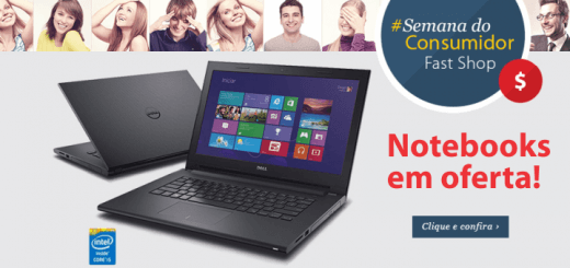notebook em oferta semana do comsumidor fast shop