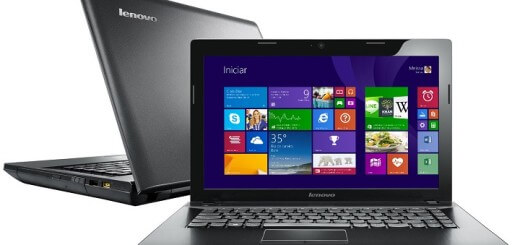 Notebook Lenovo G405 Preto, Processador AMD E1-2100, 4 Gb, HD 500 Gb, LED 14 W8.1