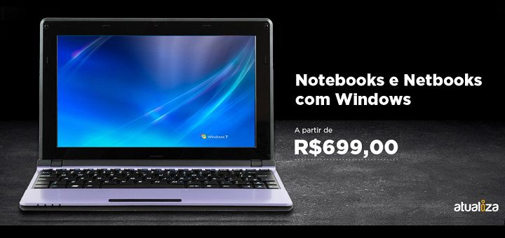 notebook e netbook com windows bom