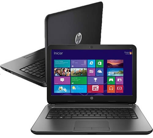 Notebook HP 240 com Intel Core i3 4GB 500GB