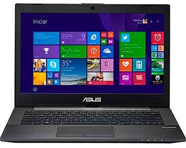 "Notebook ASUS PU401LA-WO074P Intel Core i5 6GB 500GB LED 14"" Windows 8 Pro - Preto"