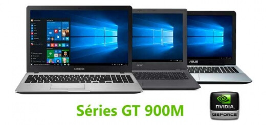 notebooks com placa de vídeo serie 900m nvidia geforce