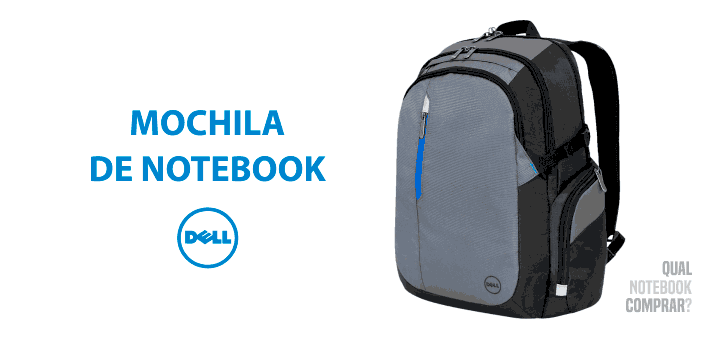 Mochila de Notebook Dell Tek Blue barata