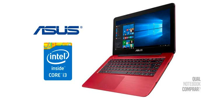 comprar Notebook Asus Z450LA-WX010T Intel Core i3 4GB 1TB Tela LED 14