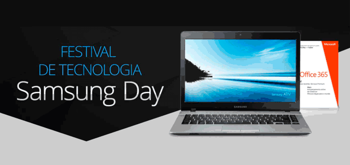 Festival de notebooks no Samsung Day 2016