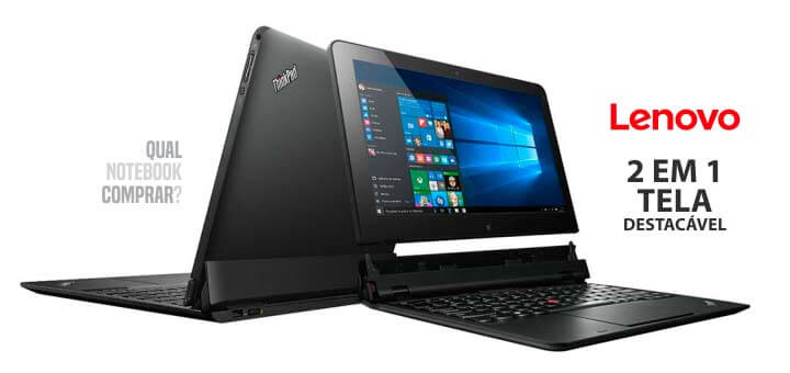 Ultrabook 2 em 1 Lenovo Thinkpad Helix Intel Core i5