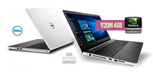 Notebook Dell i15 5558-A50 com Geforce 920M