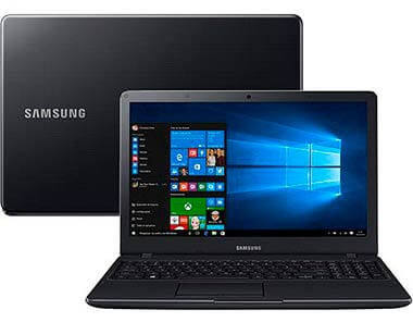 Samsung Expert X21 Intel Core 5 i5 4GB 1TB LED FULL HD 15,6 NP300E5K-KFWBR preto
