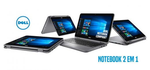 Notebook 2 em 1 Dell Inspiron I11-3168-A10 Intel Pentium 4GB