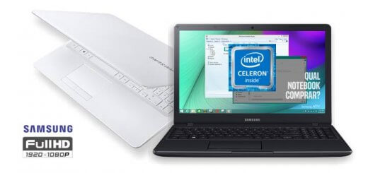 Novo Samsung Essentials E21 Intel Dual Core