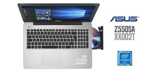 Notebook Asus Z550SA-XX002T Intel Celeron Quad Core