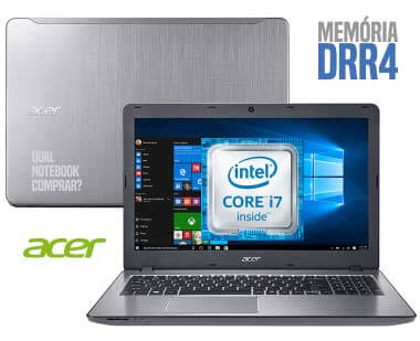 Notebook Acer F5-573-723Q core i7