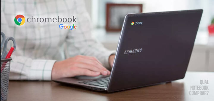 Samsung Chromebook 3 Connect do Google