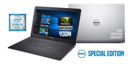 Notebook Dell i15-5557-A10 Intel Core i5