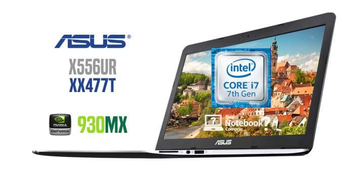 Notebook ASUS X556UR-XX477T Core i7