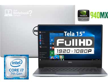 dell i15-7560-A20S Intel Core 7 i7