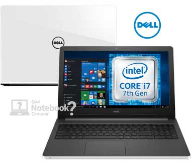 Notebook Dell Inspiron i15-5566-A50B core i7 barato