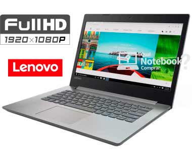 Notebook Lenovo Ideapad 320 80YF0004BR 14 Full HD