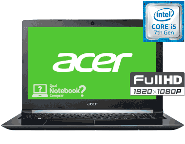 Acer Aspire 5 A515-51-52CT Core i5 tela full hd 15