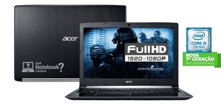 acer aspire 5 novo notebook 2017