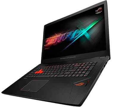 notebook gamer ASUS Notebook GL702VS-GC114T Preto