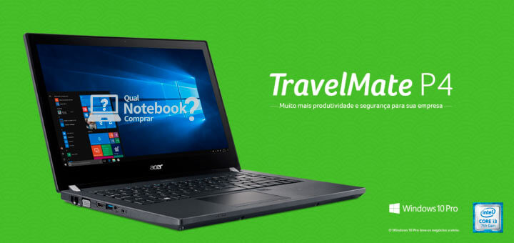 Acer TravelMate P4 Notebook