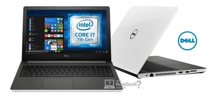 Notebook Dell Inspiron i15-5566-A50B Core i7