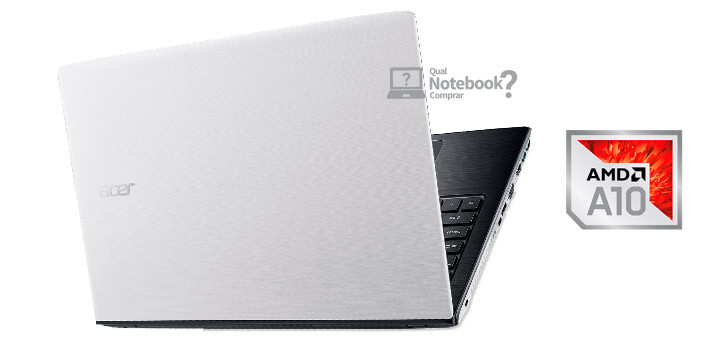 Tampa notebook branco Acer E5-553G-T4TJ aspire