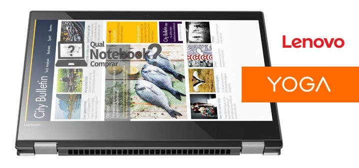 notebook Yoga 520 e tablet tela touch