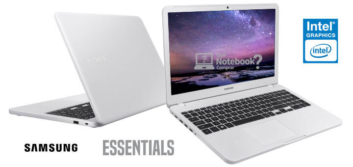 Notebook Essentials Branco Ônix - Samsung