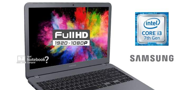Samsung Essentials E30 NP350XAA-KF1BR Core i3 com tela Full HD