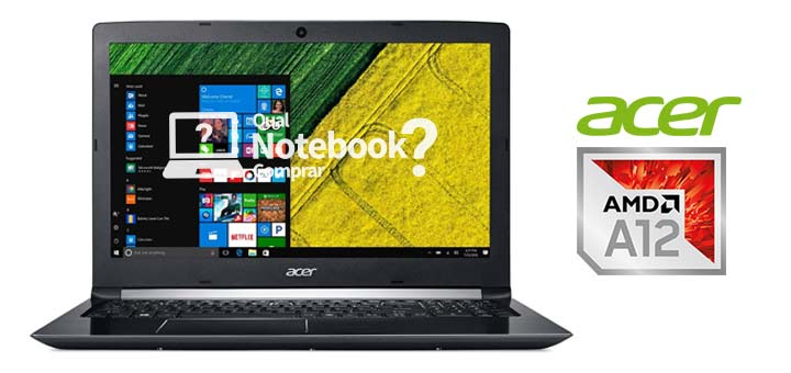 Notebook Acer Aspire 5 AMD A12