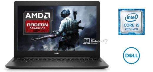 Notebook Dell Inspiron 15 3000 i15-3583-A20P Core i5 2TB Placa de Vídeo AMD Radeon 2GB