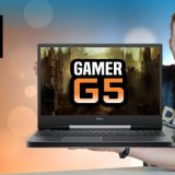 Notebook Gamer Dell G5-5590 NOVO 2019 com Intel 9ª Geração e Geforce RTX Teclado RGB e Tela IPS boa