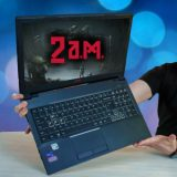 UNBOXING Notebook Gamer 2AM E550 com processador de Desktop